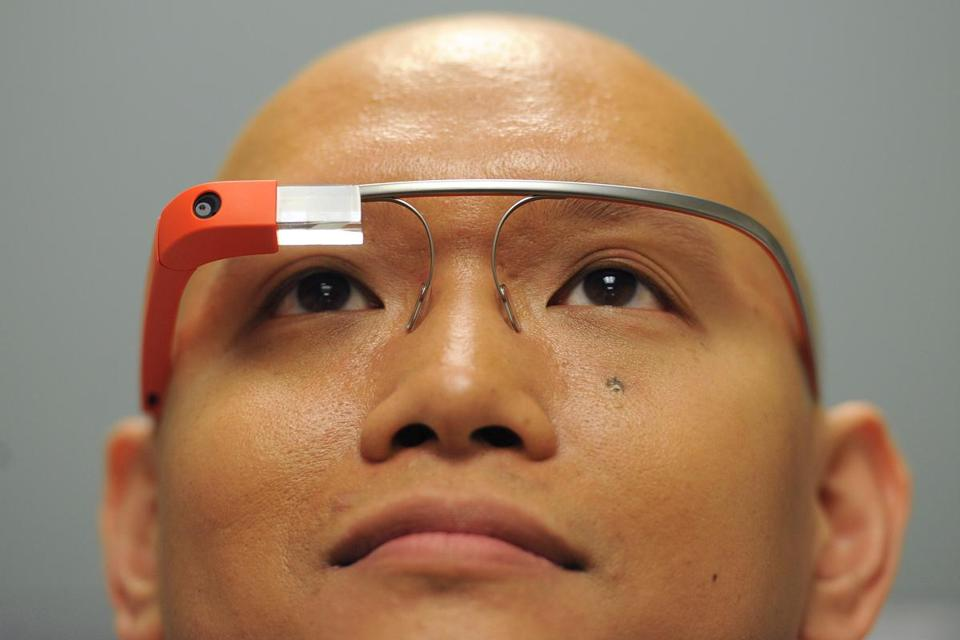 Dr. Steven Horng uses Google Glass for quick, hands-free access to patients' data.