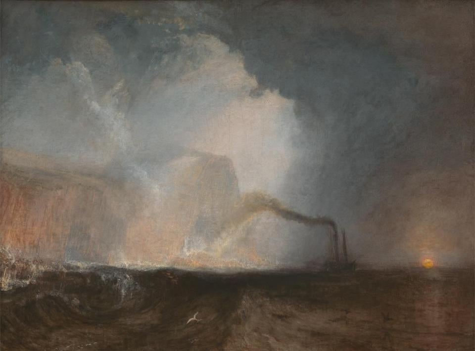 "Turner's ""Staffa, Fingal's Cave."""
