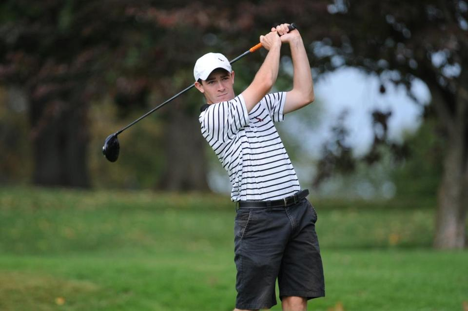 TJ McNulty of Scituate walked on to the St. Joseph's golf team, and in his sophomore year has become a Catholic Conference all-star.