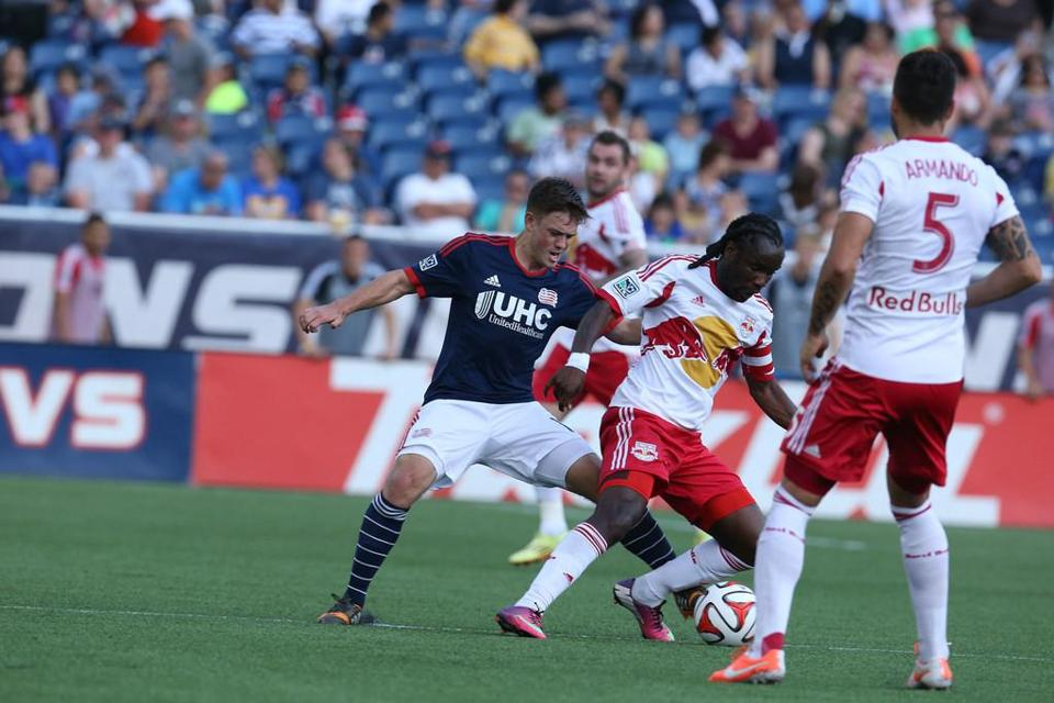 Kelyn Rowe and the Revolution generated 22 shots vs. the Red Bulls, who had only eight.