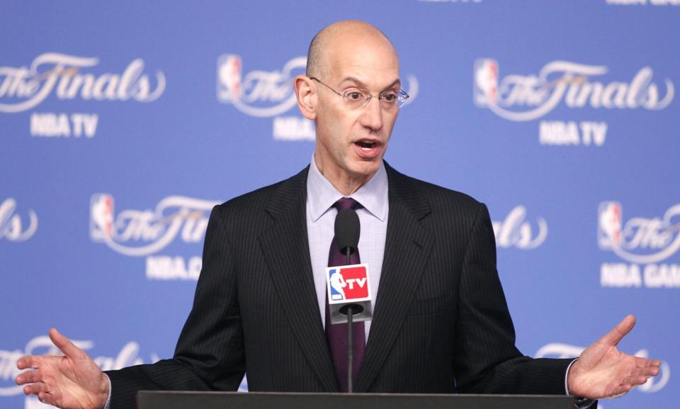 NBA commissioner Adam Silver said there's no way the lifetime ban against deposed Clippers owner Donald Sterling will be rescinded.
