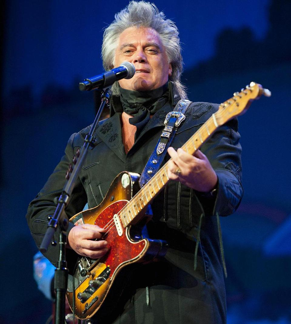 Marty Stuart during Marty Stuart's 13th annual Late Night Jam at the Ryman Auditorium on June 4 in Nashville.