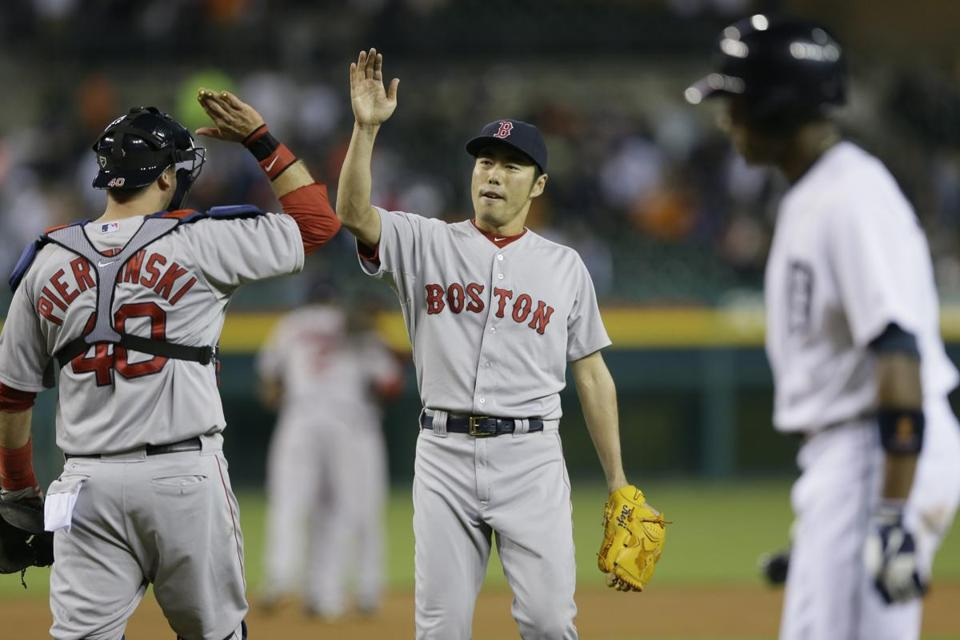 Koji Uehara has been one of the bright spots on the Red Sox this season.
