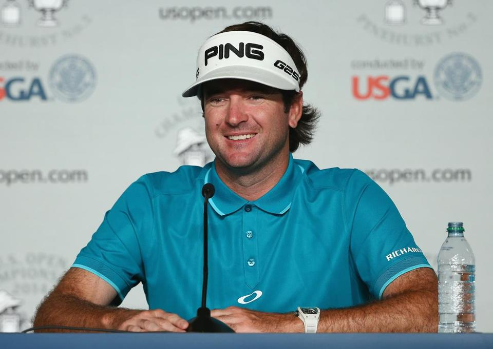 Bubba Watson is happy to admit that he will be playing conservatively on Pinehurst No. 2 (Tyler Lecka/Getty Images)
