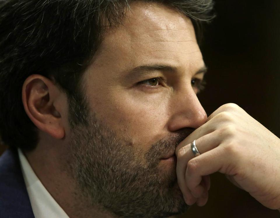 Ben Affleck on Capitol Hill in Washington, D.C., in February.