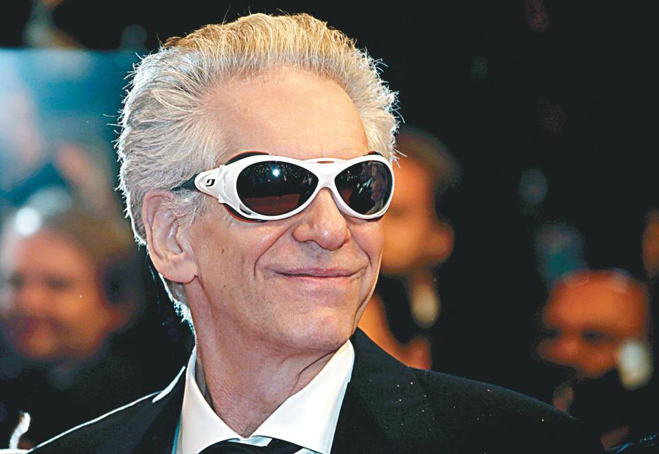 "David Cronenberg at the Cannes Film Festival last month for the screening of his film ""Maps to the Stars."""