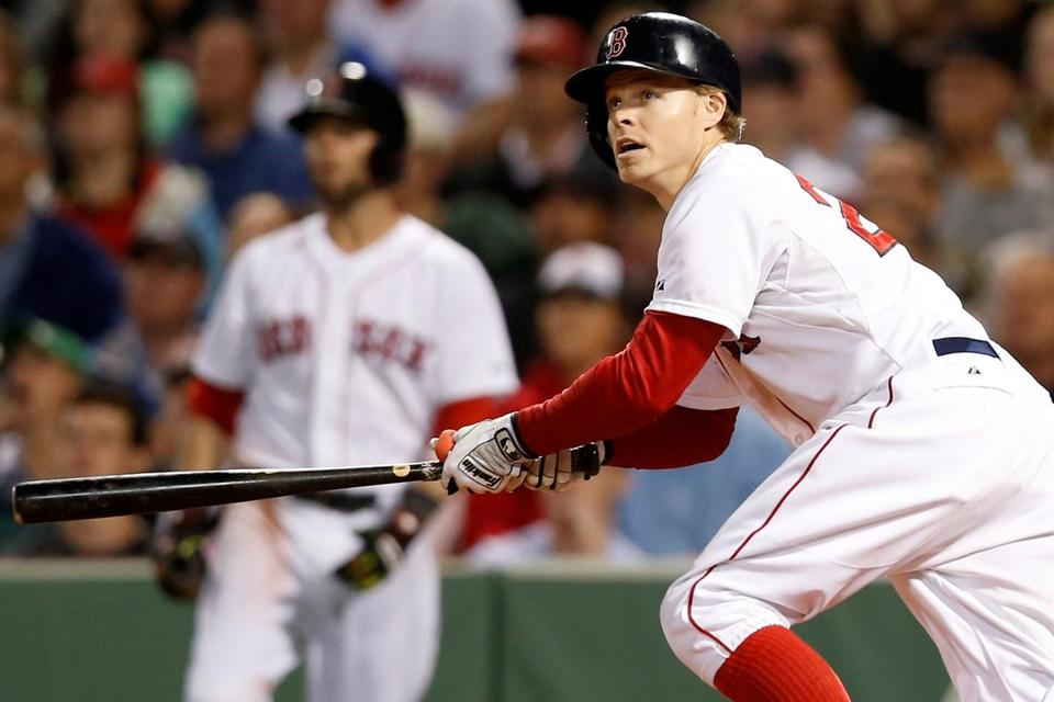 Brock Holt has been a major contributor with the bat, but his ability to move around the diamond has given Red Sox manager John Farrell valuable flexibility. Greg M. Cooper/USA TODAY Sports