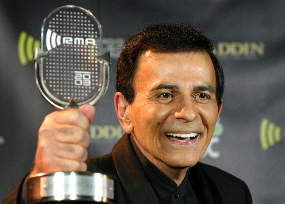 Casey Kasem had a distinctive voice that captivated listeners as he counted down the top pop music hits on his popular weekly show.