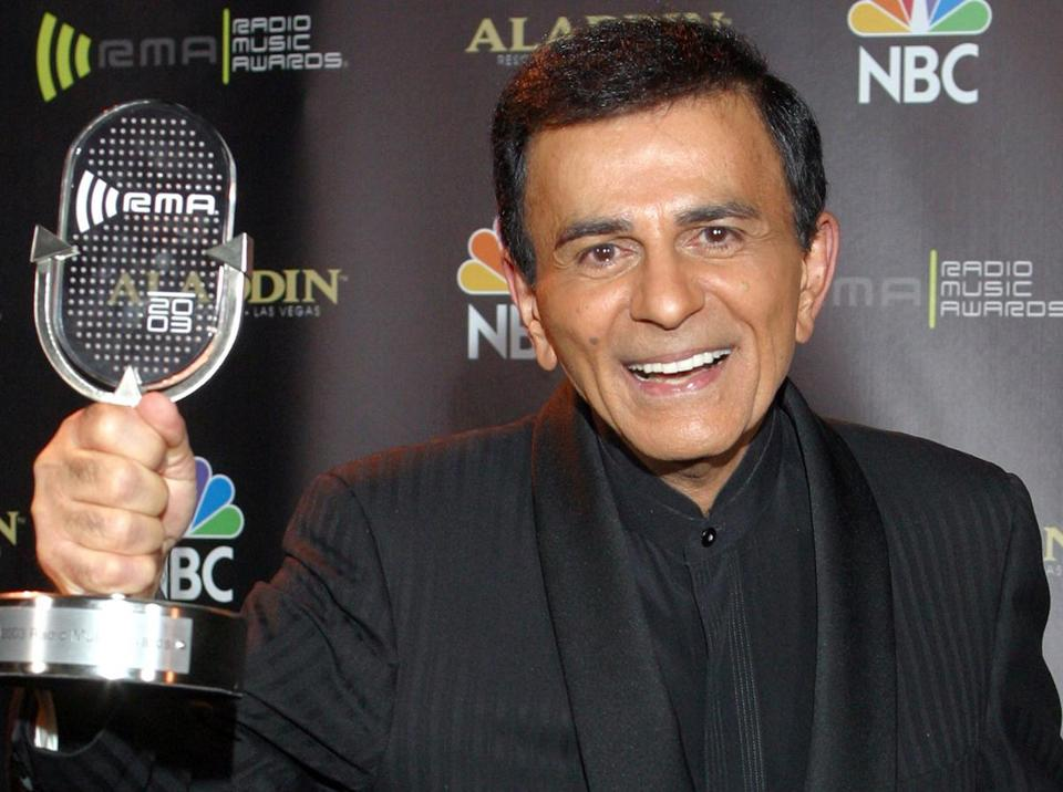 Casey Kasem received the Radio Icon award during The 2003 Radio Music Awards in 2003.