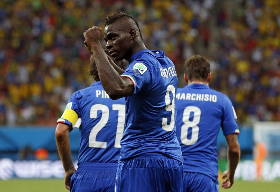 Mario Balotelli scored in the 50th minute for the game-winner.