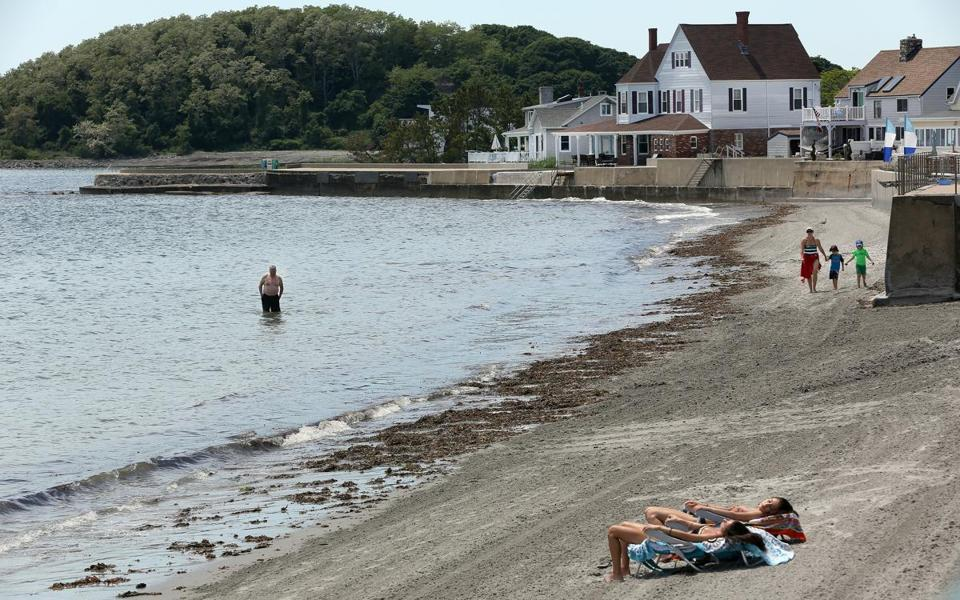 Life in the island town of Nahant largely returned to normal after a police raid at Town Hall Friday.