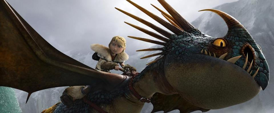 """How to Train Your Dragon 2"" took in $50 million last weekend in North America for DreamWorks Animation, which is seeking revenue outside of traditional moviemaking."