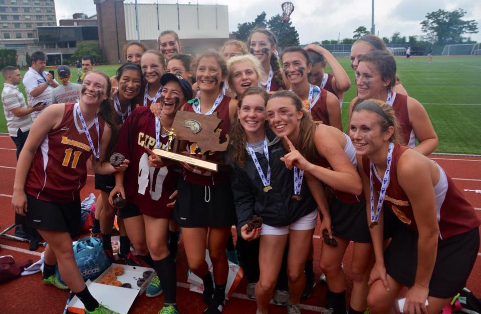 The Newburyport girls' lacrosse team edged Bromfield, 7-6, in the Division 2 state final Saturday at Boston University..