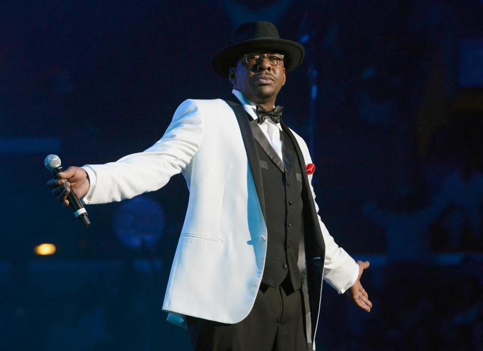 Bobby Brown performed onstage with New Edition in June.