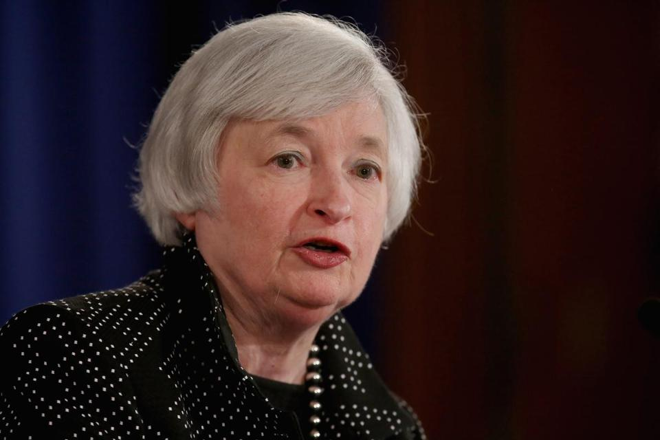 "Janet Yellen said several factors ""ought to be working to produce above-trend growth."""