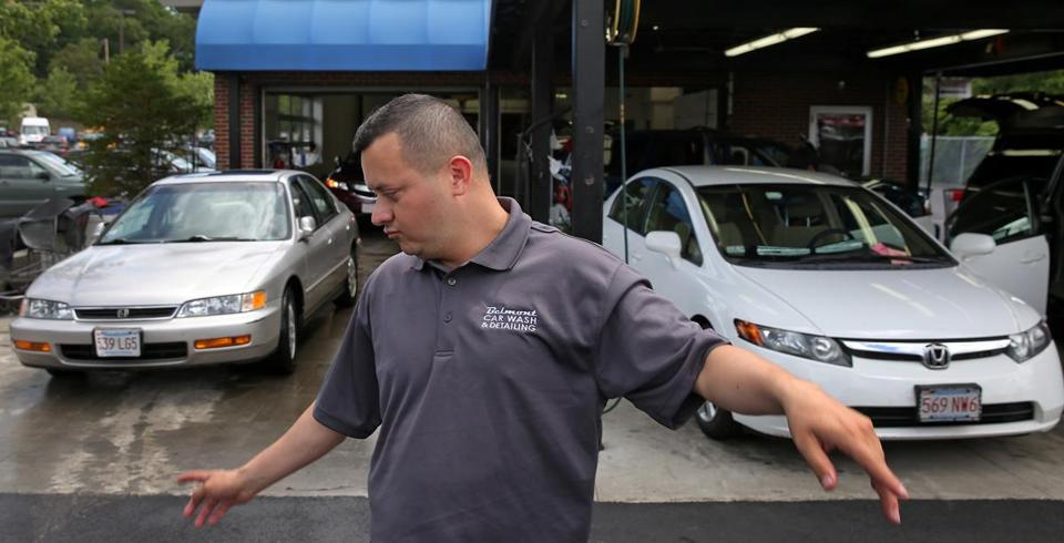 Otto Torres has been with Belmont Car Wash since 2002 and is now in charge of making things run smoothly on a day-to-day basis.