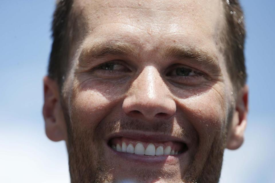 "Does criticism motivate Tom Brady? ""I'm always pretty fired up,"" he said.  AP Photo/Michael Dwyer"