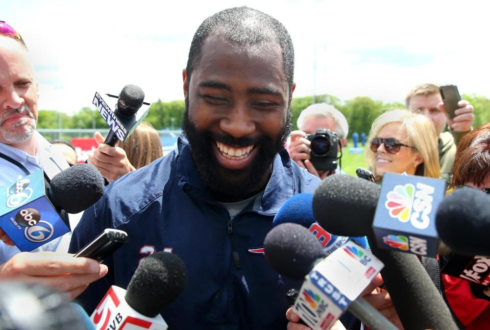 Darrelle Revis will be out to prove he's still atop the NFL's cornerback depth chart with the Patriots this season.