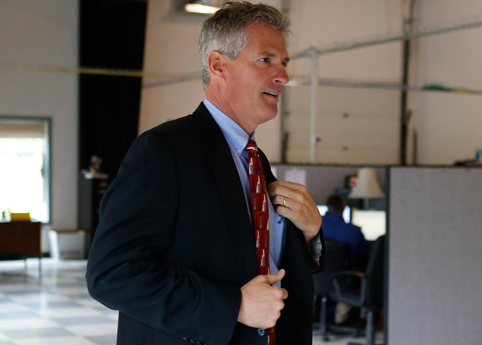 Scott Brown, now running for Senate in New Hampshire, agreed Friday to let reporters review eight years of tax returns filed by him and his wife Gail Huff.