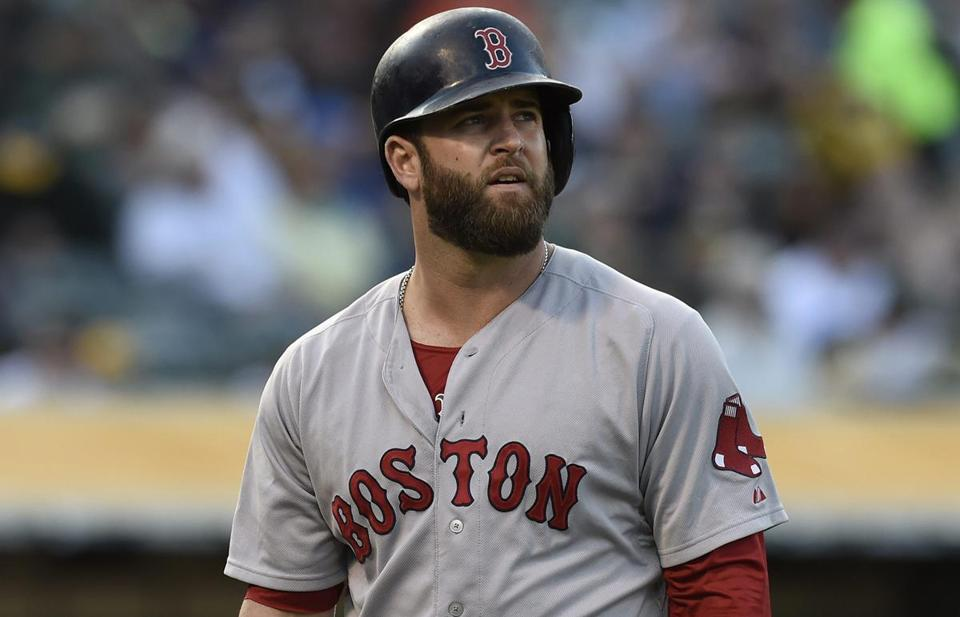 Mike Napoli, whose home run won Wednesday's game, was 0-for-4 with three strikeouts on Thursday.