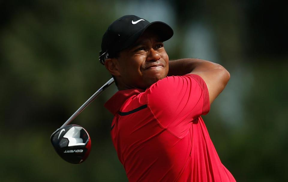 """It's time to take the next step,"" Tiger Woods wrote in a Facebook post. Photo by Chris Trotman/Getty Images"