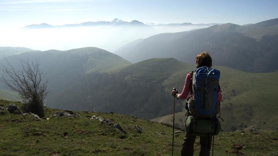 "A scene from ""Walking the Camino."""