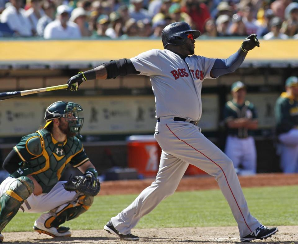 David Ortiz hit a game-winning home run in the 10th inning.