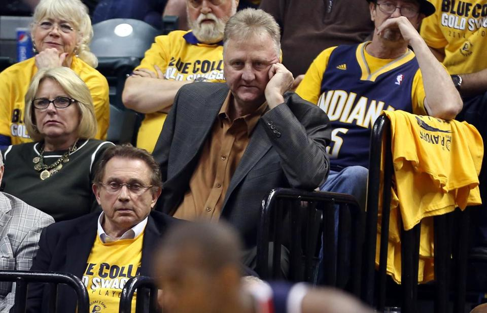 Celtics Hall of Famer Larry Bird, now leading the Pacers, is used as a comparison for many who are projecting draft prospect Doug McDermott's future in the NBA.