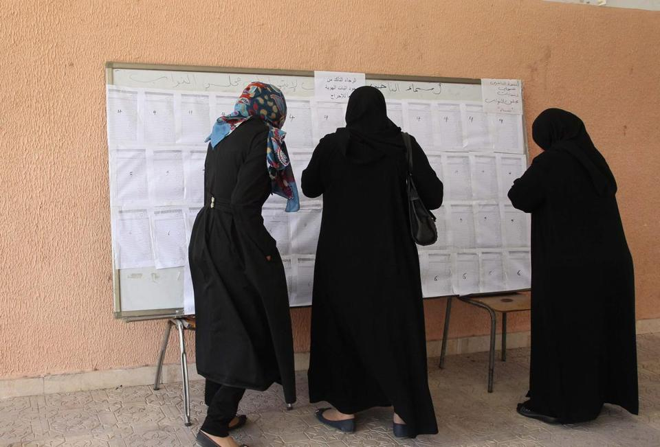 Turnout was sparse Wednesday as Libyans voted to elect a new 200-member Parliament.