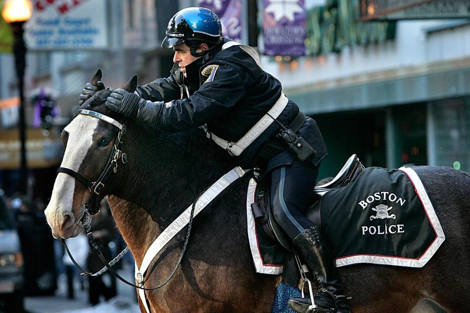 The Mounted Police Unit was ended in 2009 because of budget constraints.