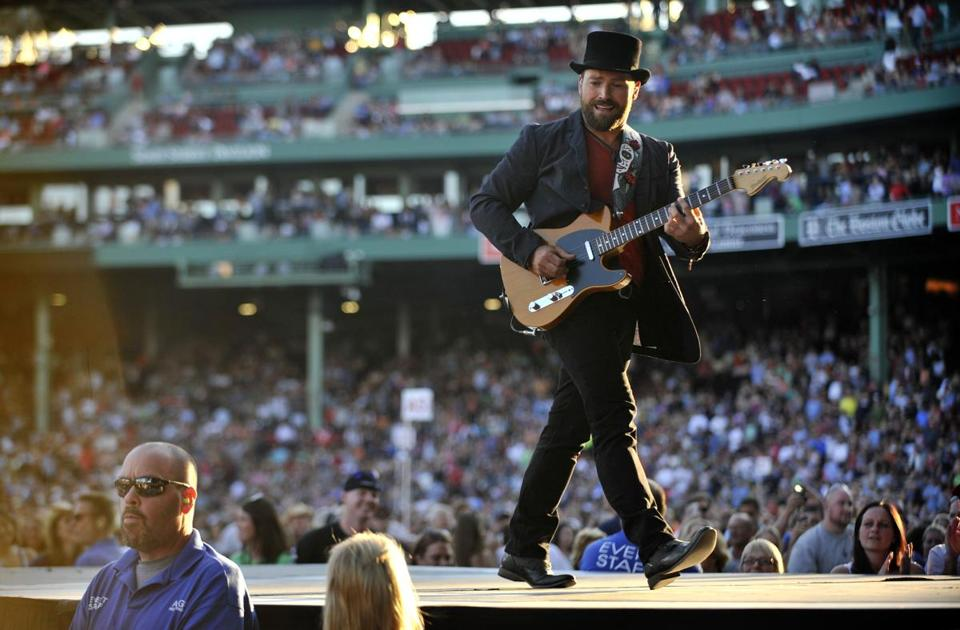 The Zac Brown Band played at Fenway Park Friday, the first of two consecutive shows.