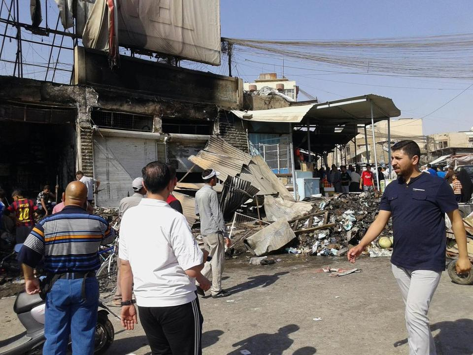 Iraq's military carried out three airstrikes on the insurgent-held city of Mosul early Saturday. The militants' surge across much of northern and western Iraq has thrown the country into its deepest crisis since US troops withdrew late in 2011.
