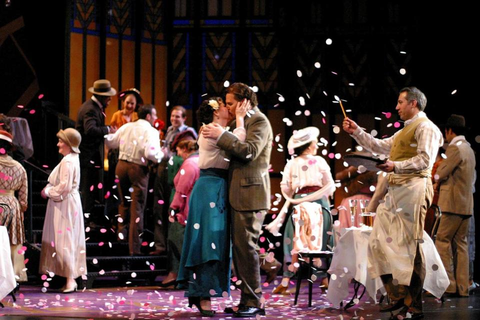 "Boston Lyric Opera's ""La rondine"" by Giacomo Puccini in 2003."