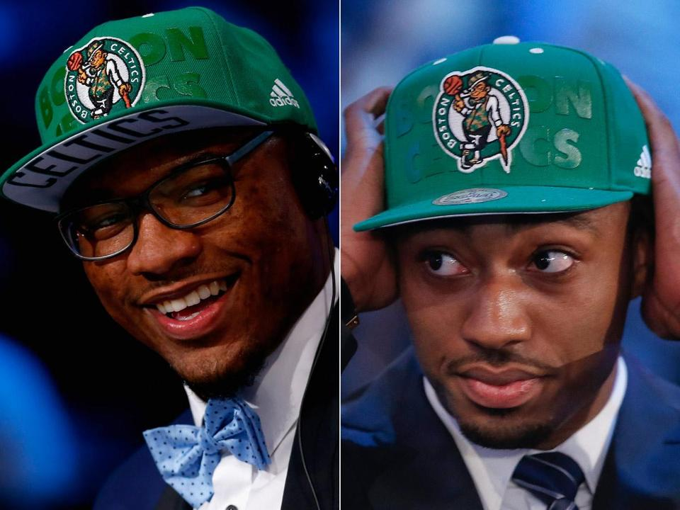 Marcus Smart (left) has the versatility to play either backcourt role, and James Young provides impressive shooting and a scoring punch.