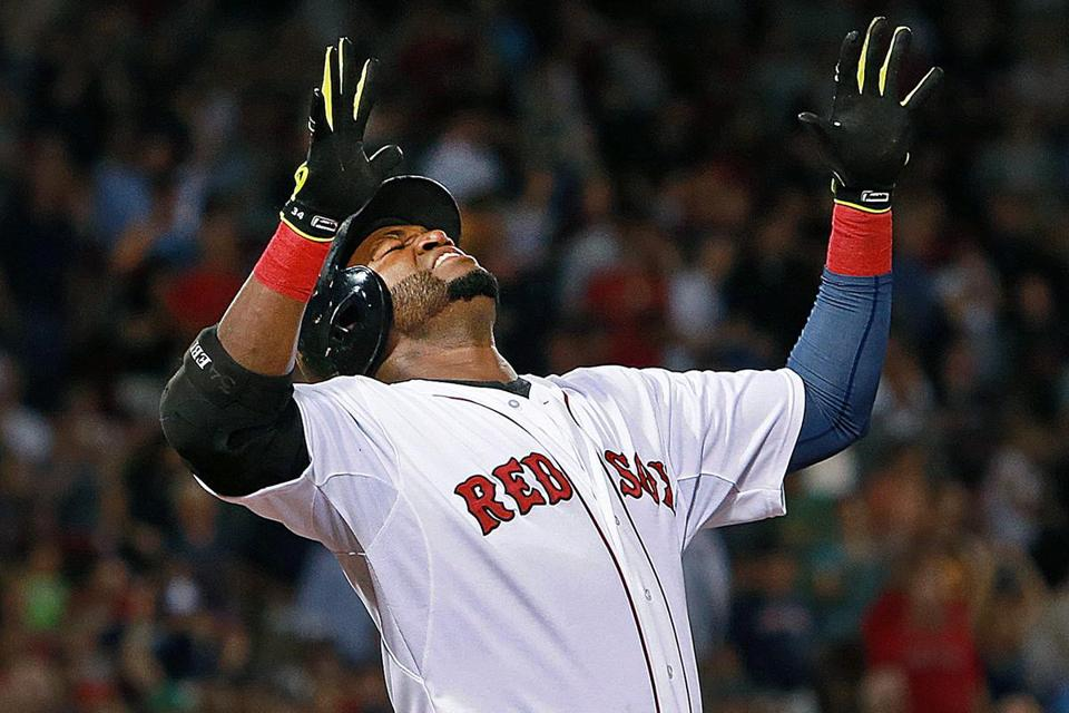 This season has been filled with moments of frustration for David Ortiz and the Red Sox.