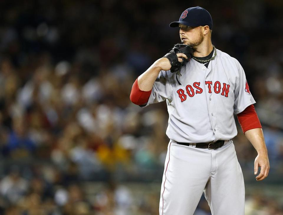 The Red Sox' initial contract extension offer to pitcher Jon Lester was $70 million over four years.