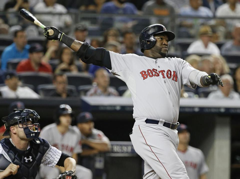 David Ortiz hit his 450th career home run, his 19th this season.