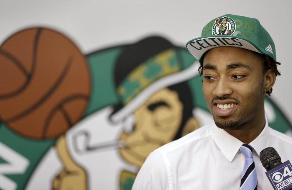 An injured neck will prevent Celtics draft pick James Young from being in uniform in summer league. Steven Senne/Associated Press