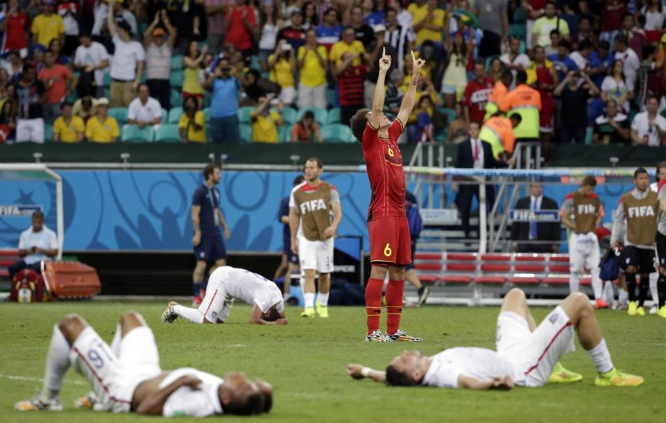 The US played hard to the final whistle, and came up one goal short.