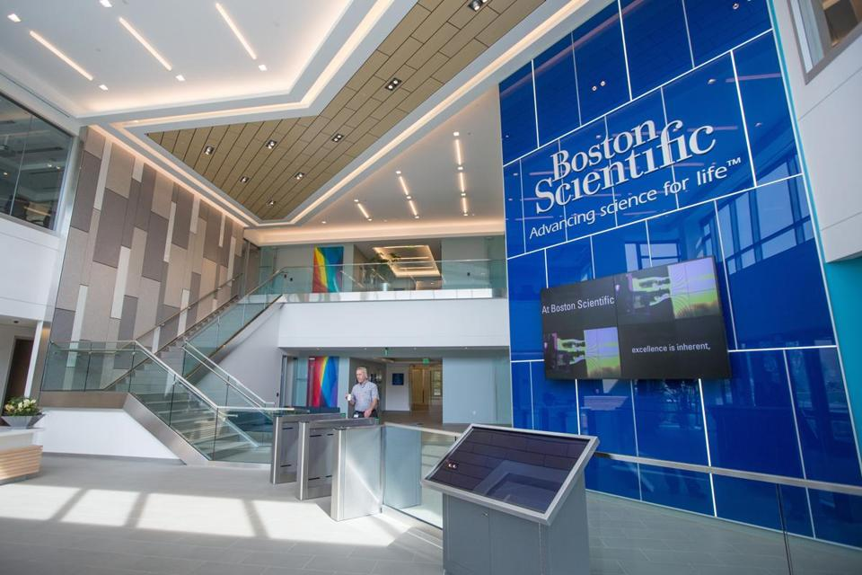 "Boston Scientific wanted a state-of-the art campus with amenities but didn't want to ""go too Google,"" one executive said."