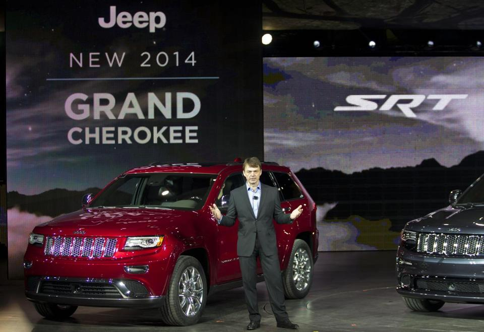 Among the vehicles being recalled is the 2014 Jeep Grand Cherokee, which was unveiled at the 2013 North American International Auto Show in Detroit.