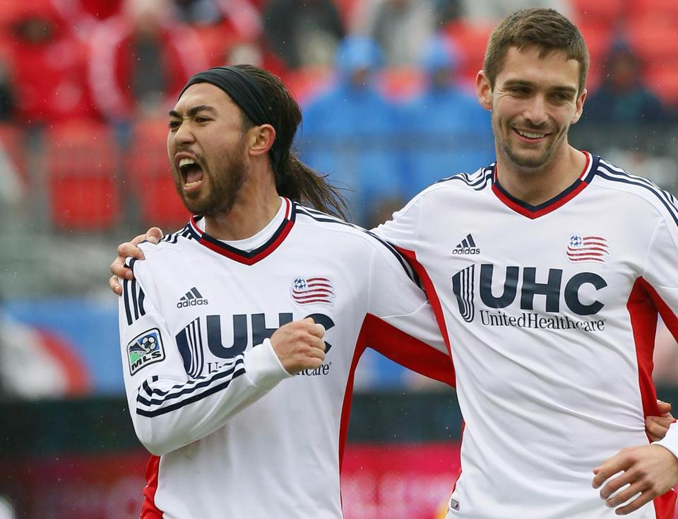 Saturday's match will be a homecoming for Texas native Lee Nguyen (left), the Revolution's leading scorer with six goals. John E. Sokolowski/USA TODAY Sports