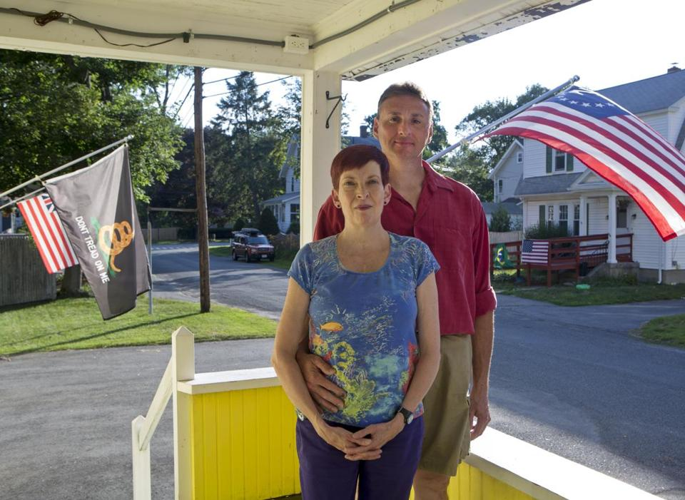 """If I didn't have this medicine I'd probably be on oxygen all the time,"" Cora Higson (with husband Bob at their Framingham home) says of Tracleer, a drug that lowers blood pressure in the lungs, easing Higson's pulmonary hypertension."