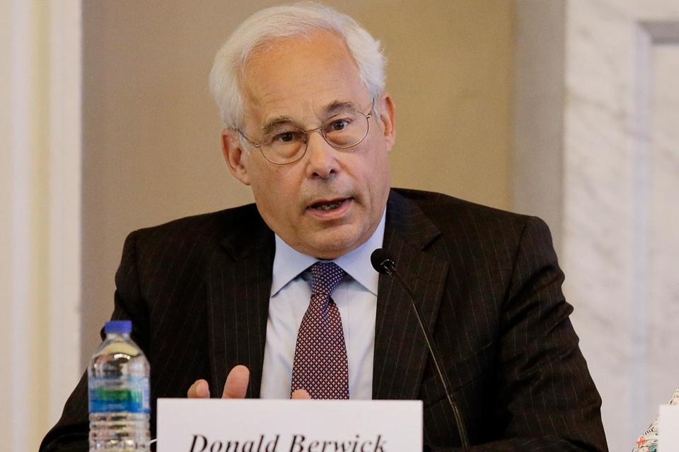 In an interview on WGBH-FM, Donald Berwick emphasized that his positions separated him from his party rivals.