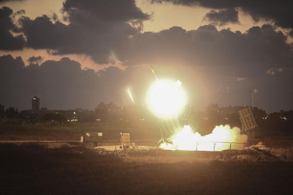 Israel's defense system intercepted a rocket Wednesday.