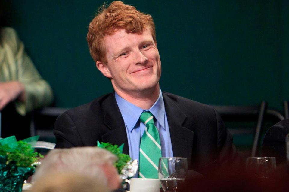 Joseph Kennedy III is the son of former congressman Joseph P. Kennedy II and grandson of Robert F. Kennedy.