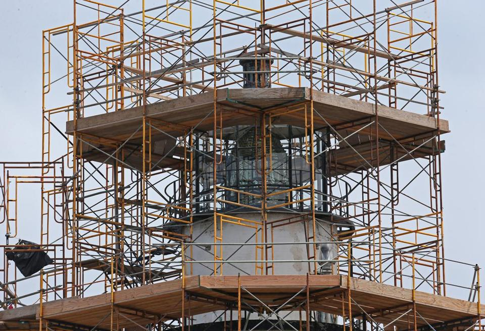 Due to the planned construction on Little Brewster Island, there will be no tours of Boston Light during the 2014 season.<br />