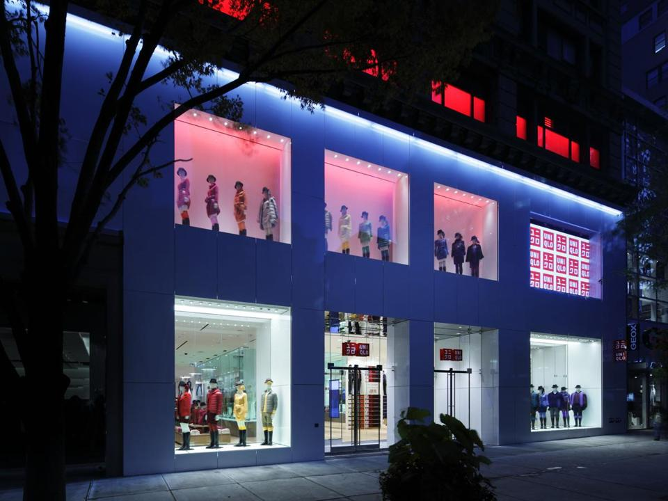 The Uniqlo store at 34th Street in New York City