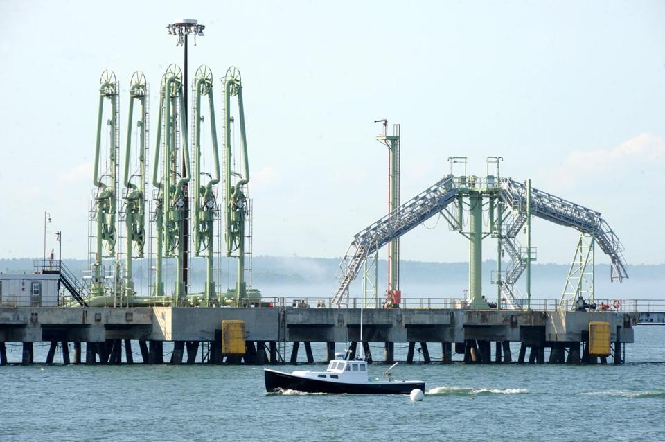 A pipeline could have sent Canadian tar sands oil to South Portland's port, where tankers would have exported it.