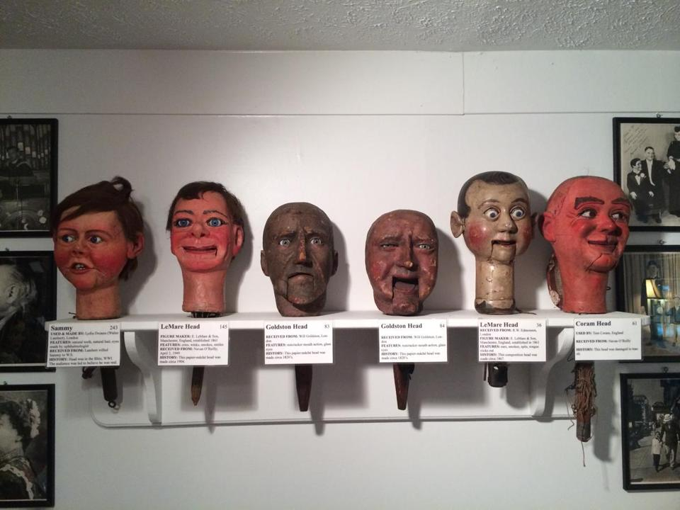 Visitors to the the only museum dedicated to ventriloquism may feel acutely observed. Their watchers have, alas, long been silent.